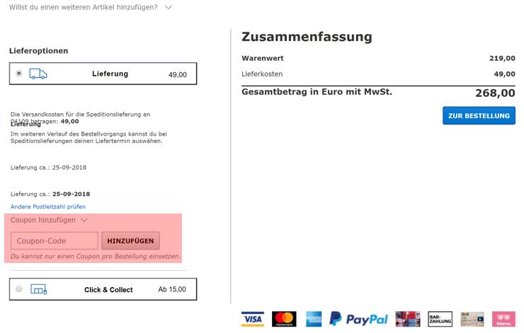 Ikea rabattcode versandkostenfrei