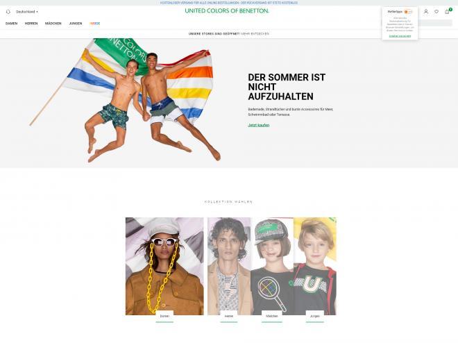 Benetton Gutschein